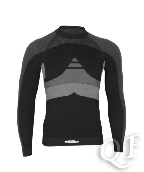 f3acd5fd2182e1d Купить Basic Man футболка мужская дл/рук (цвет черный/серый) по цене ...