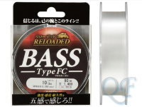 Леска Gosen Fluorocarbon Reloaded Bass FC 80м