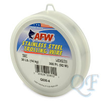 Поводковый материал AFW Stainless Steel Trolling Wire